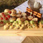 Праздничные закуски для дня рождения на природе. мобильный фуршет